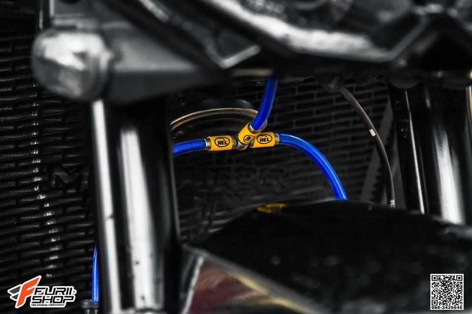 Kawasaki Z1000 ve dep huyen bi trong than hinh full black - 7
