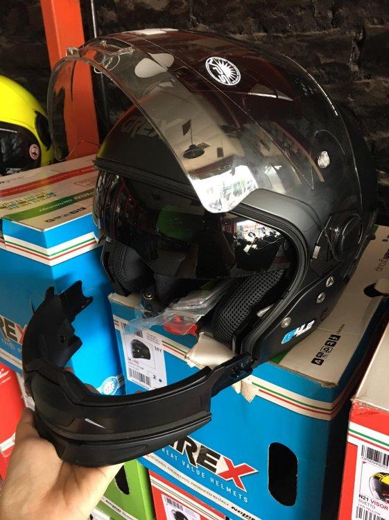 KTM Ha Noi Nolan N44 MoDel 2018 mot trong nhung chiec mu chat luong nhat tai Viet Nam