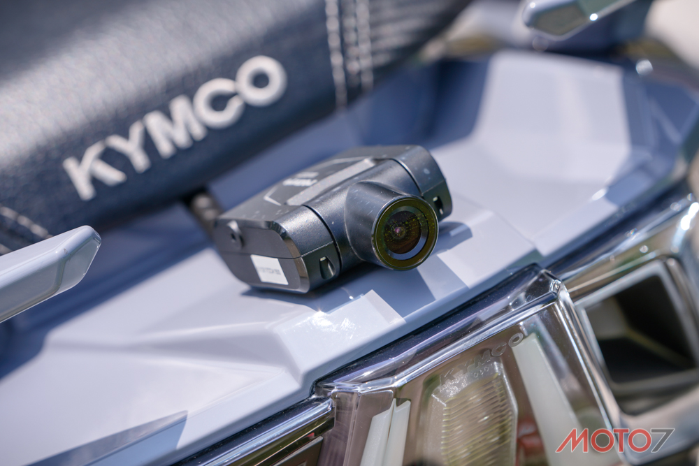 Kymco AK550 ban do rang ngoi voi phong cach tem dau - 9