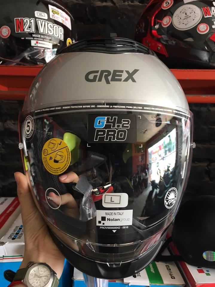 motobox Mau mu bao hiem moi Nolan Grex G42 Pro thuong hieu Italy
