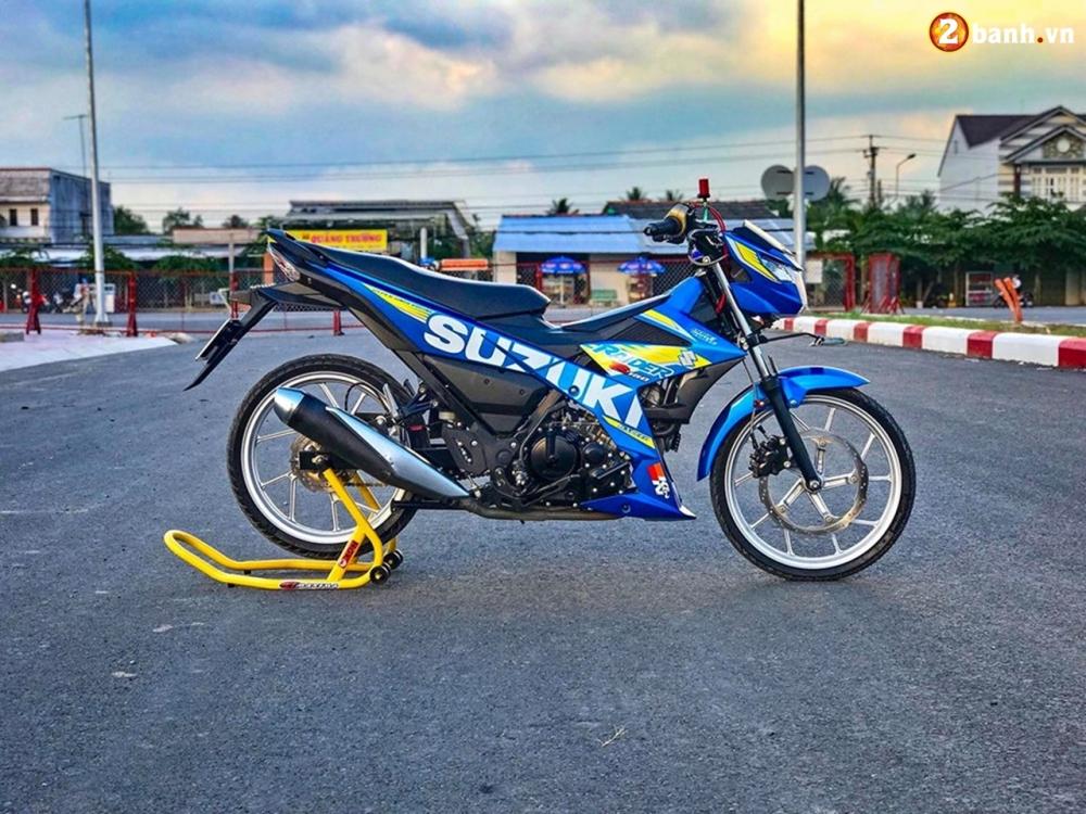 Raider 150 Fi do su goi cam toat len o phan dau cua biker Tien Giang - 3