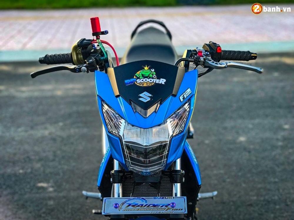 Raider 150 Fi do su goi cam toat len o phan dau cua biker Tien Giang - 10