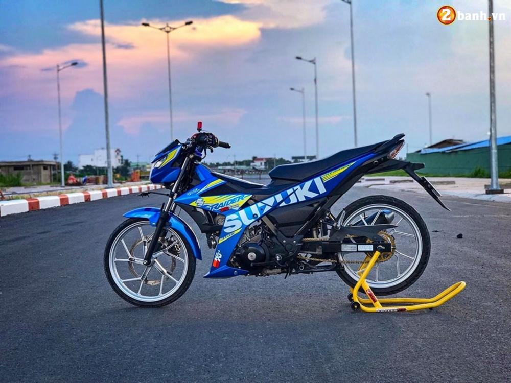 Raider 150 Fi do su goi cam toat len o phan dau cua biker Tien Giang - 13