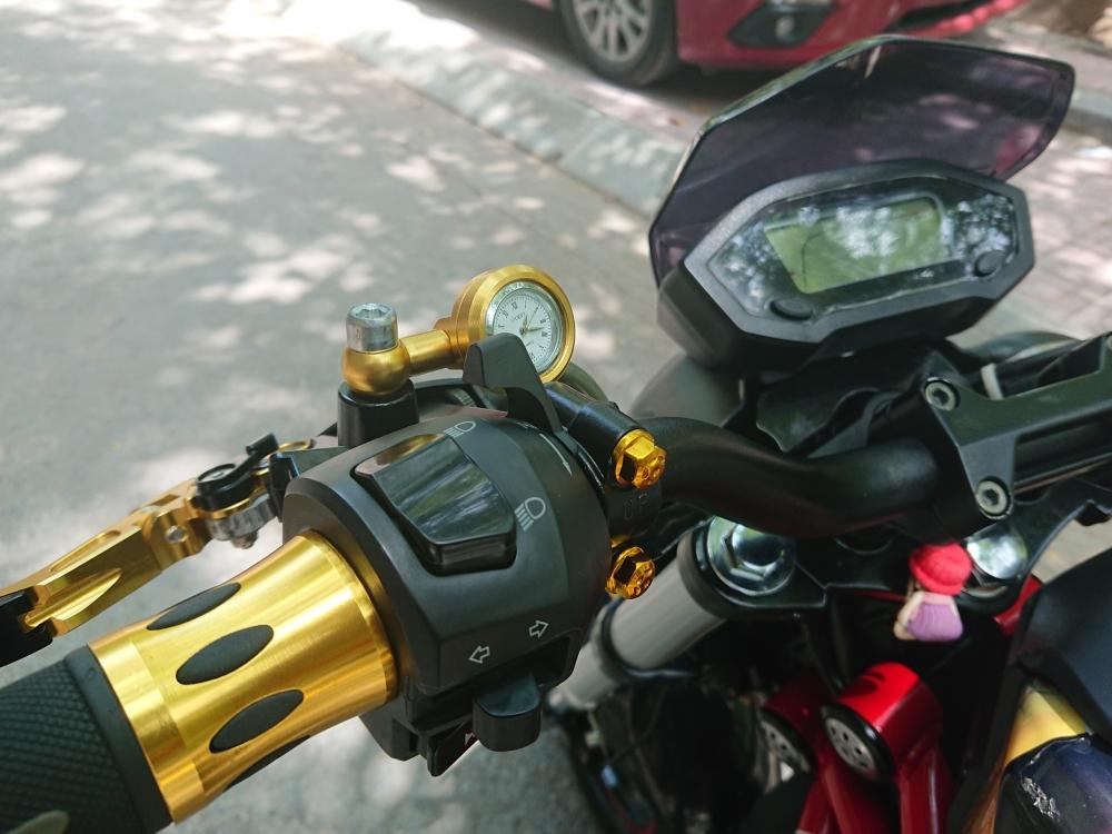 Rao ban Ducati Monster mini 110 chinh chu 2018 do tam huyet chat lu - 2