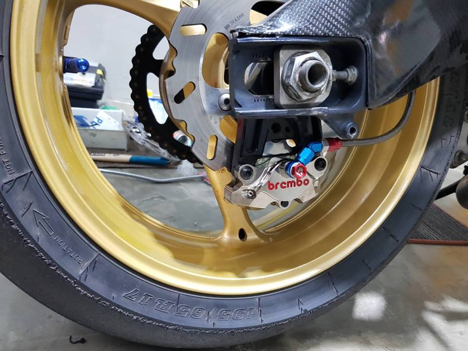 Suzuki GSXR1000 ban nang cap chi tiet tai NBB Racing - 11