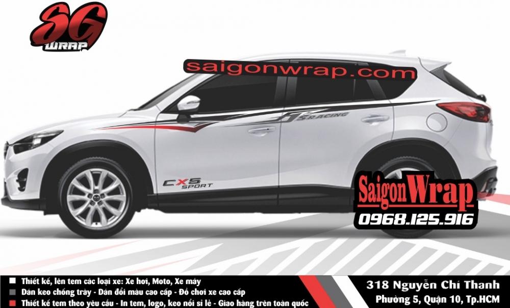 Tem Xe Mitsubishi Pajero Sport Kia Sorento Audi Q7 Isuzu MuX Lexus LX570 SaiGonWRAP - 8