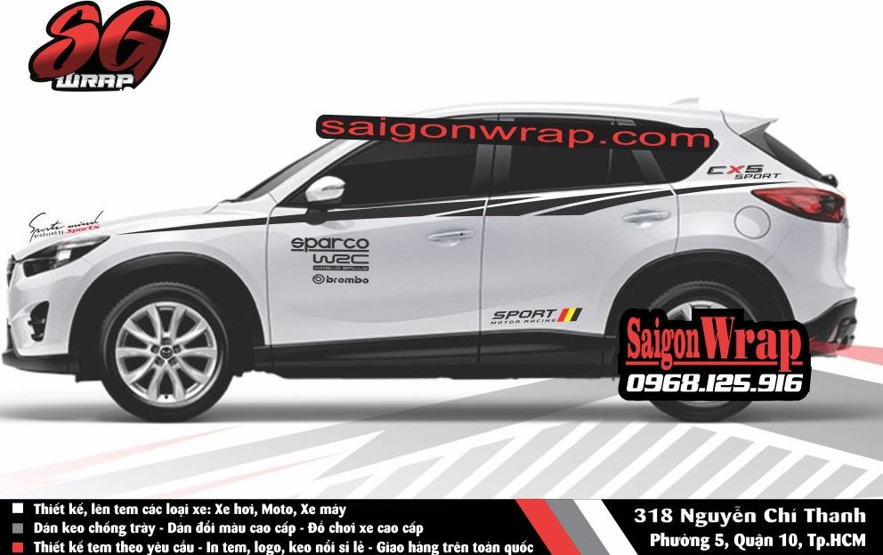 Tem Xe Mitsubishi Pajero Sport Kia Sorento Audi Q7 Isuzu MuX Lexus LX570 SaiGonWRAP - 3