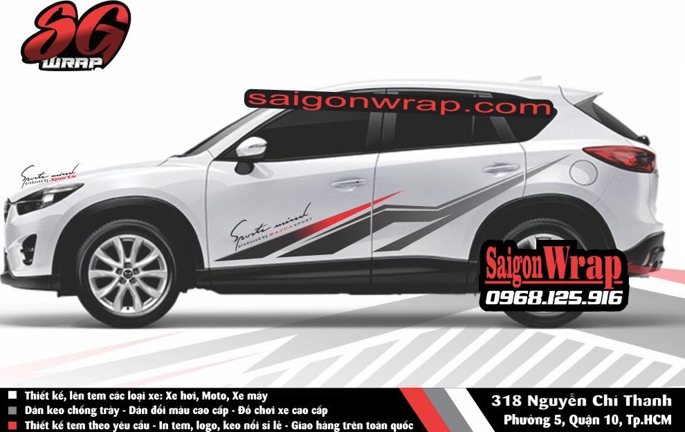 Tem Xe Mitsubishi Pajero Sport Kia Sorento Audi Q7 Isuzu MuX Lexus LX570 SaiGonWRAP - 2