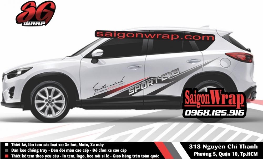 Tem Xe Mitsubishi Pajero Sport Kia Sorento Audi Q7 Isuzu MuX Lexus LX570 SaiGonWRAP - 13