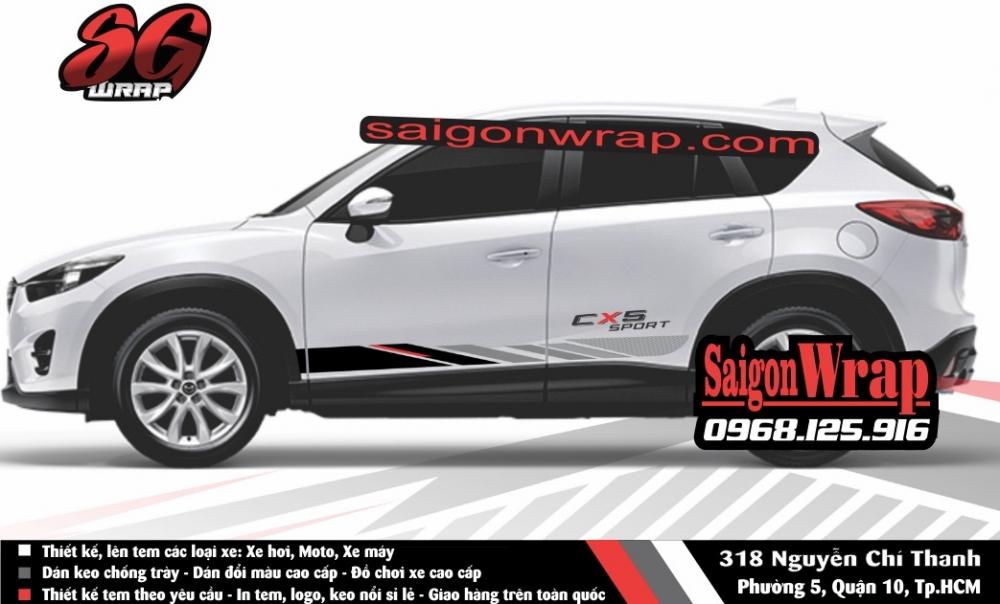 Tem Xe Mitsubishi Pajero Sport Kia Sorento Audi Q7 Isuzu MuX Lexus LX570 SaiGonWRAP - 14