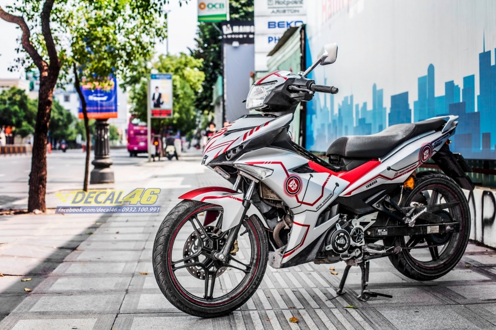 Tong hop tem xe Exciter 150 trang do chat thang 62018 do Decal46 thuc hien - 17