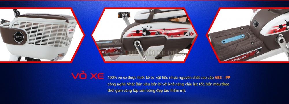 Xe Dap Dien HONDA A6 Nhap khau chinh hang HONDA - 3