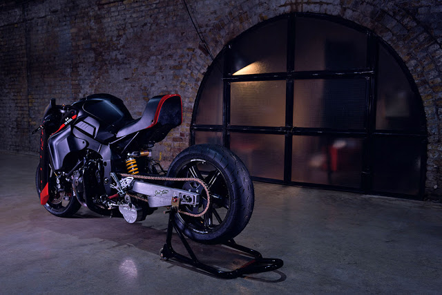 Yamaha MT10 ban bien doi mang ten TW Steel - 13