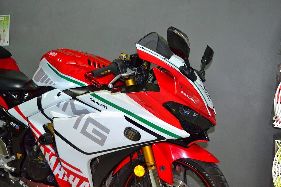 Yamaha R3 ban do khac biet mang ten R3M AMG V4 - 6