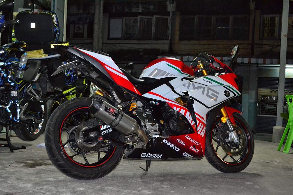 Yamaha R3 ban do khac biet mang ten R3M AMG V4 - 8