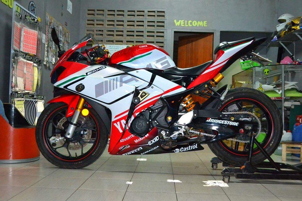 Yamaha R3 ban do khac biet mang ten R3M AMG V4 - 10