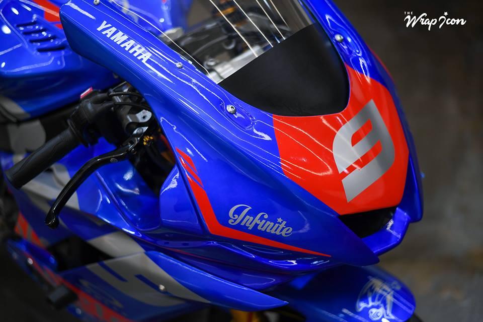 Yamaha R6 do cang det voi phong cach tem dau - 3