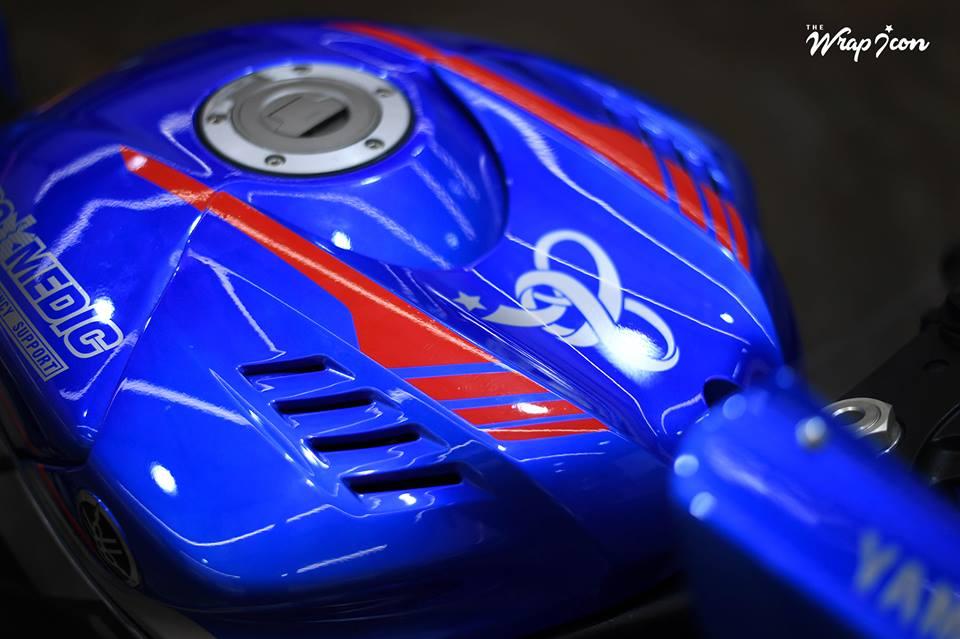 Yamaha R6 do cang det voi phong cach tem dau - 5