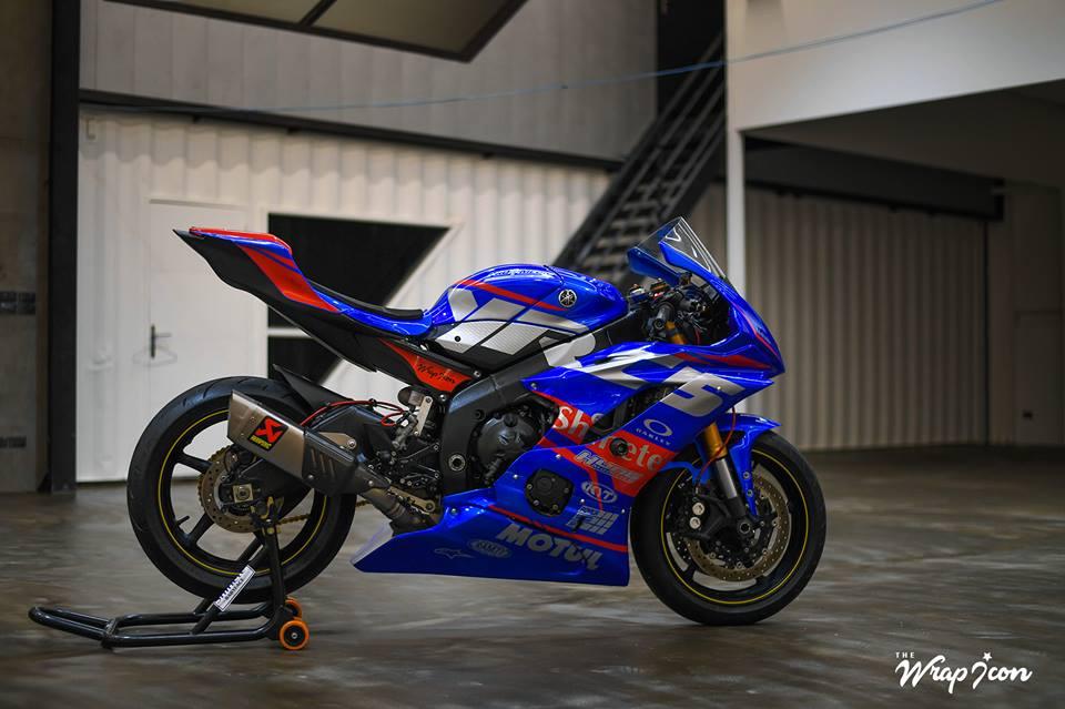 Yamaha R6 do cang det voi phong cach tem dau - 9