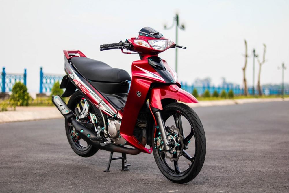 Yamaha Z125 do do choi hang hieu cua biker Vinh Long - 2