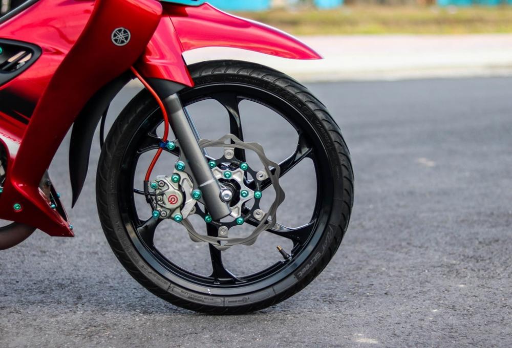 Yamaha Z125 do do choi hang hieu cua biker Vinh Long - 5