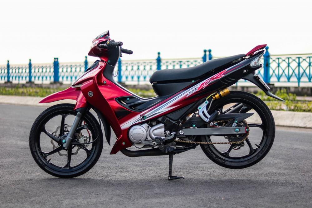 Yamaha Z125 do do choi hang hieu cua biker Vinh Long