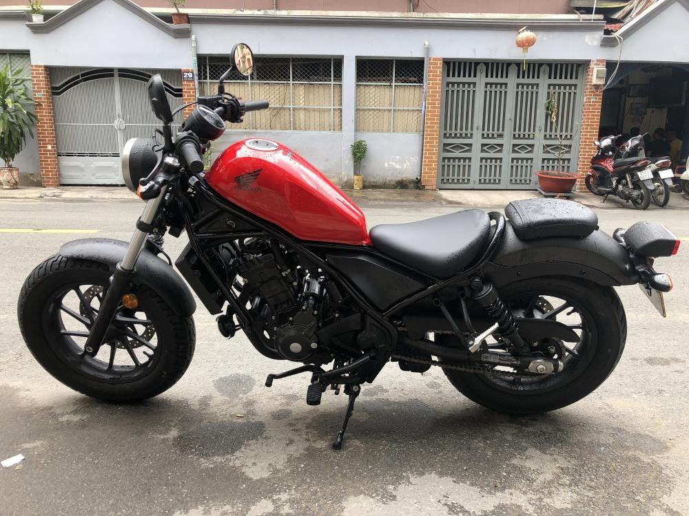 __Can ban Honda Rebel 300 ABS date 2018 mau do odo 400km moi bam bien so dep xong ban luon - 4