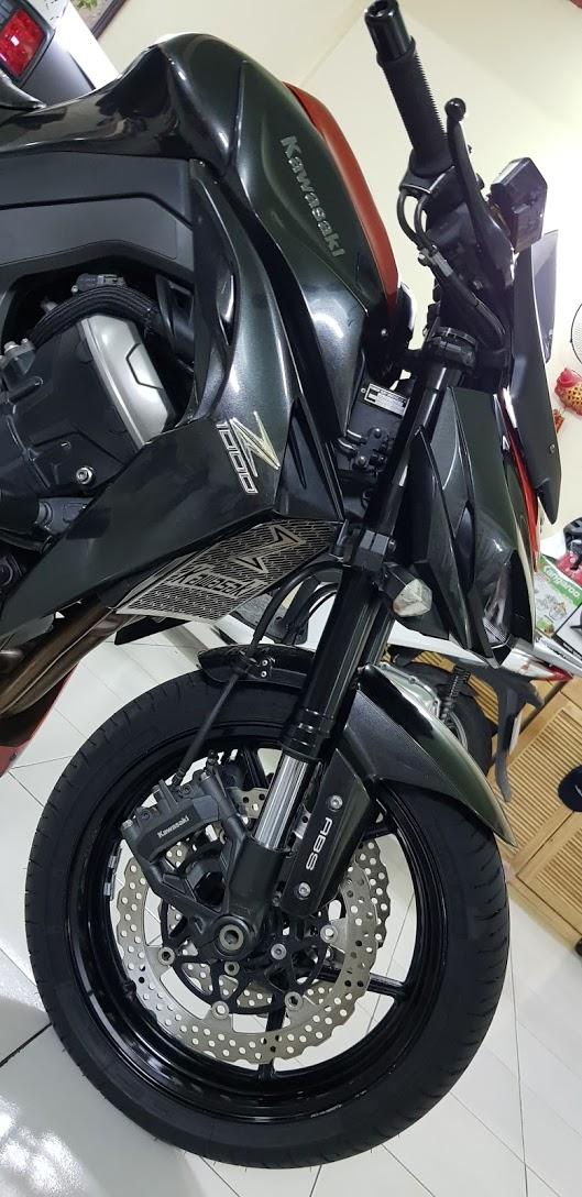 Ban Kawasaki Z1000ABSHQCN112015HISSChau AuSaigon so dep - 4