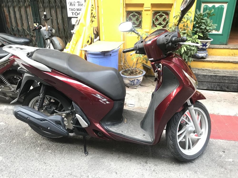 BAN XE SHVN 2013 150cc mau do dun chinh chu - 4