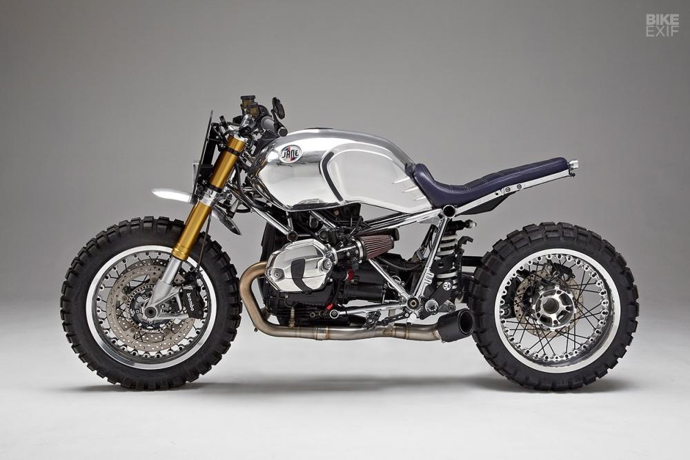 BMW RnineT ban thoat xac ngoan muc den tu Jane Motocycle - 10