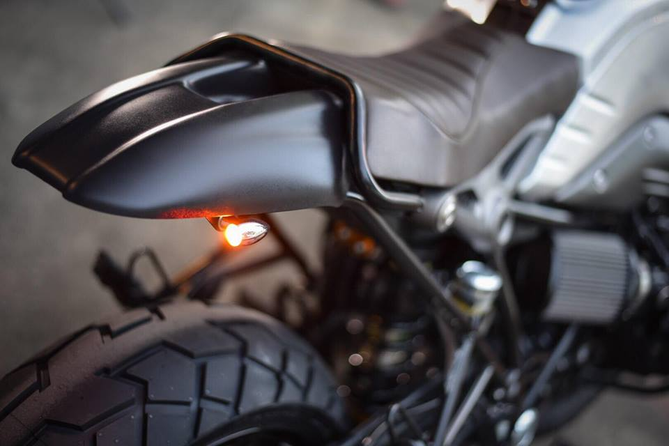 Bmw RnineT don theo phong cach Tracker style day me hoac - 9