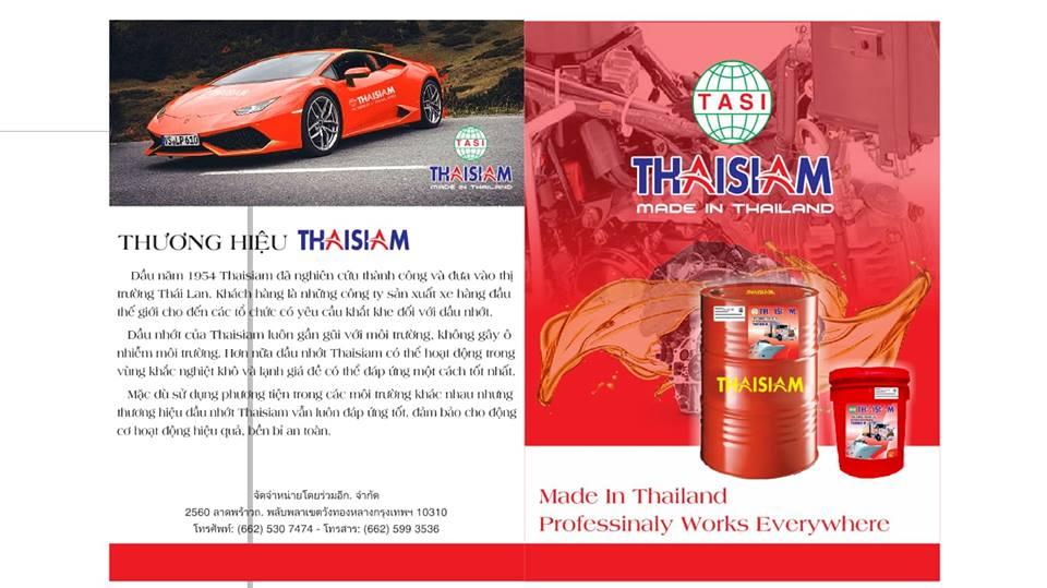 Dau nhot cao cap ThaiSiam Nhap khau Thai Lan - 2