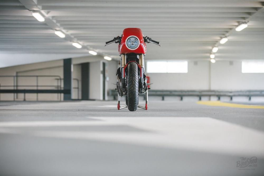 Ducati Scrambler 1100 ban do Cafe Racer den tu DeBolex - 3