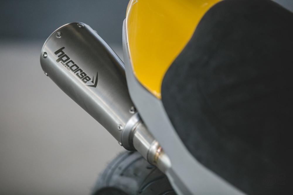 Ducati Scrambler 1100 ban do Cafe Racer den tu DeBolex - 10