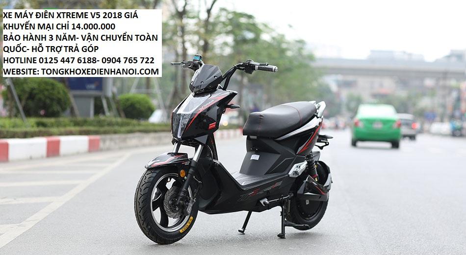 Giant m133 plus moi tinh gia chi 6tr8 du mau tai Tong kho xe dien Ha Noi - 4