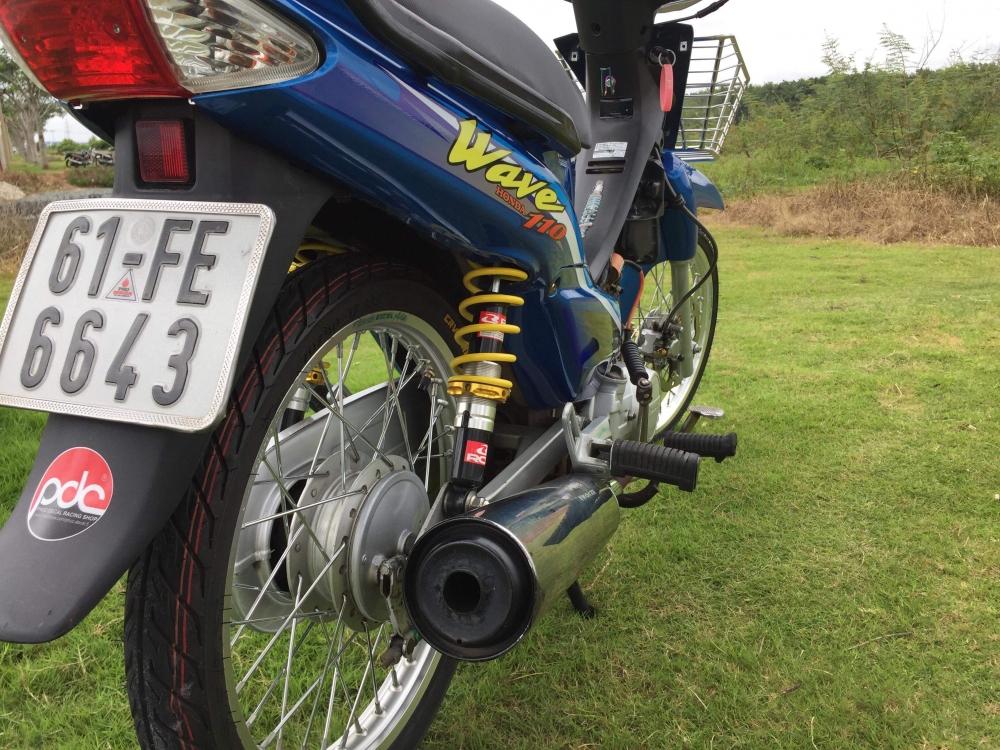 Ve Dep Hoai Co Den Tu Honda Wave Cua biker Tre Tuoi - 2