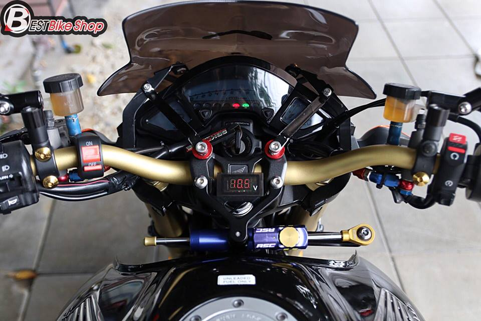 Honda CB1000R ban nang cap tu mau Nakedbike vang bong mot thoi - 7