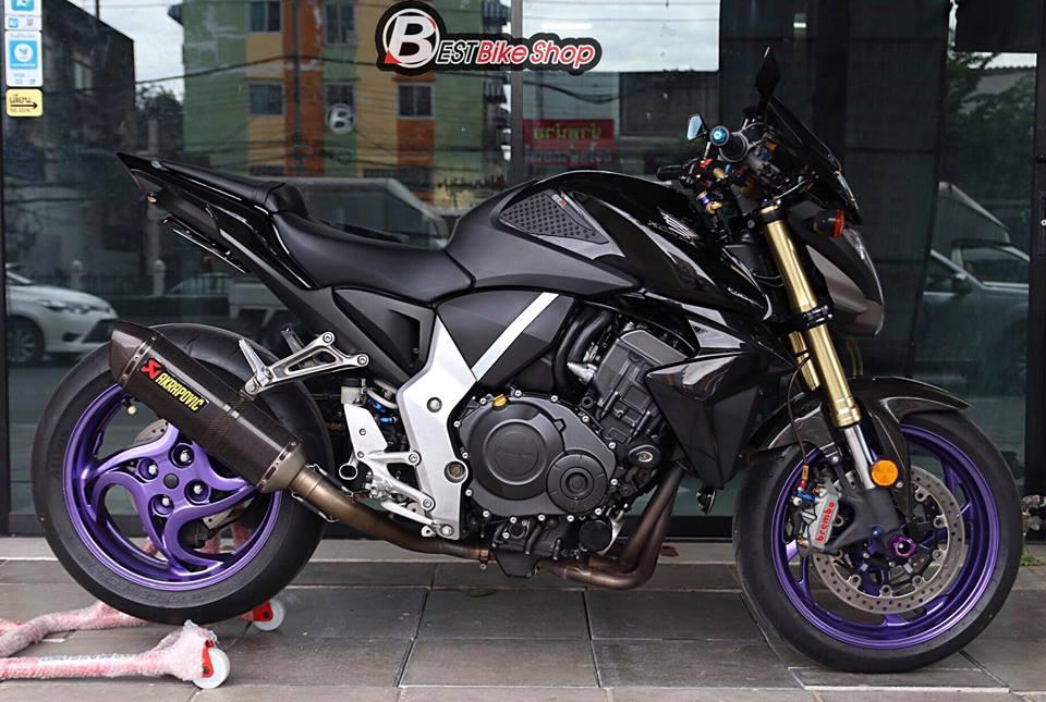 Honda CB1000R ban nang cap tu mau Nakedbike vang bong mot thoi - 13