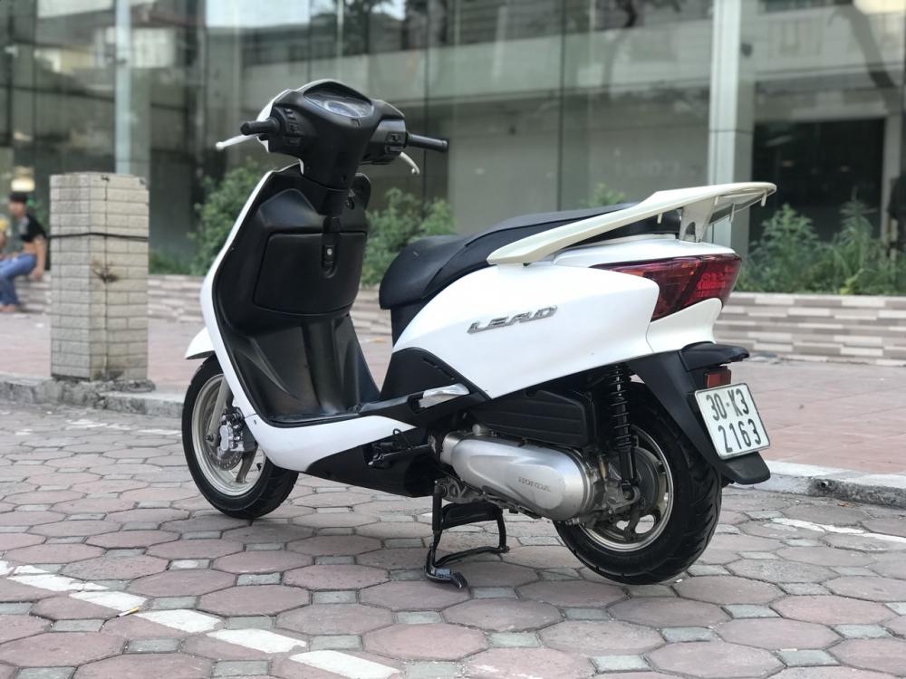 Honda Lead 110cc mau trang nguyen ban rat dep 2k10 - 6