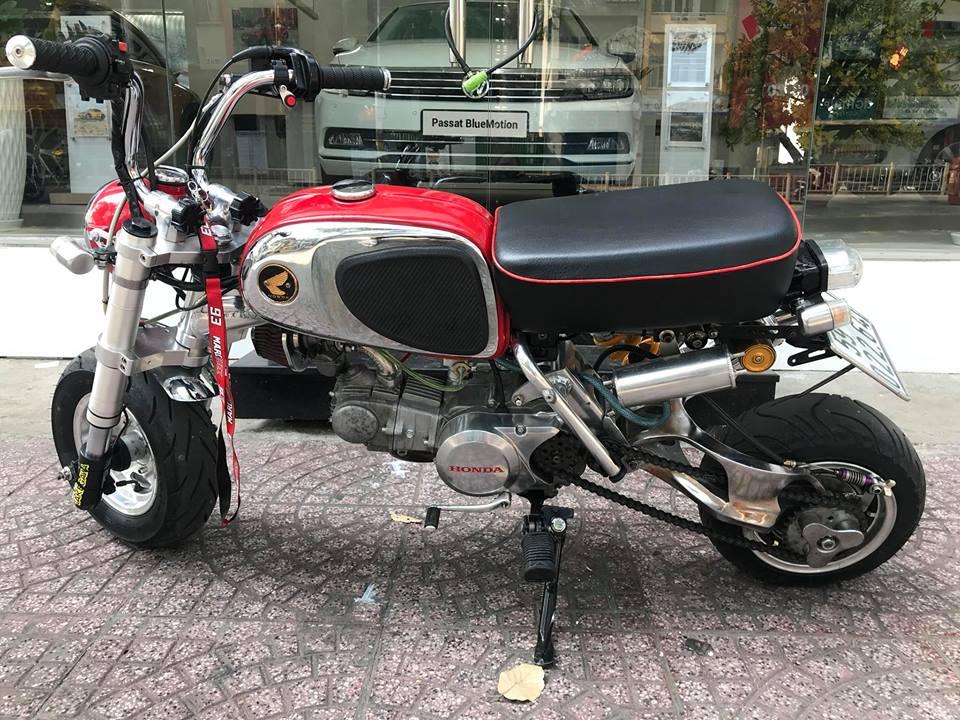 Honda Monkey 50cc Chu lun nhat ban niem dam me cua Nu Biker Viet - 7