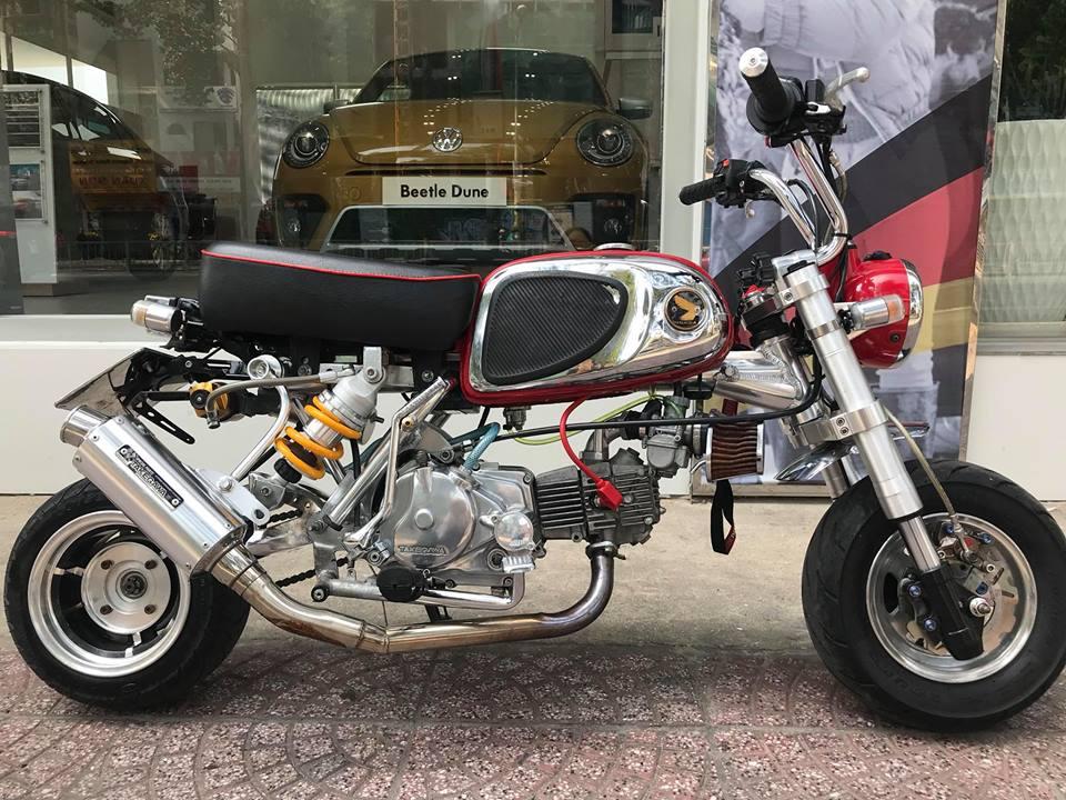 Honda Monkey 50cc Chu lun nhat ban niem dam me cua Nu Biker Viet - 11