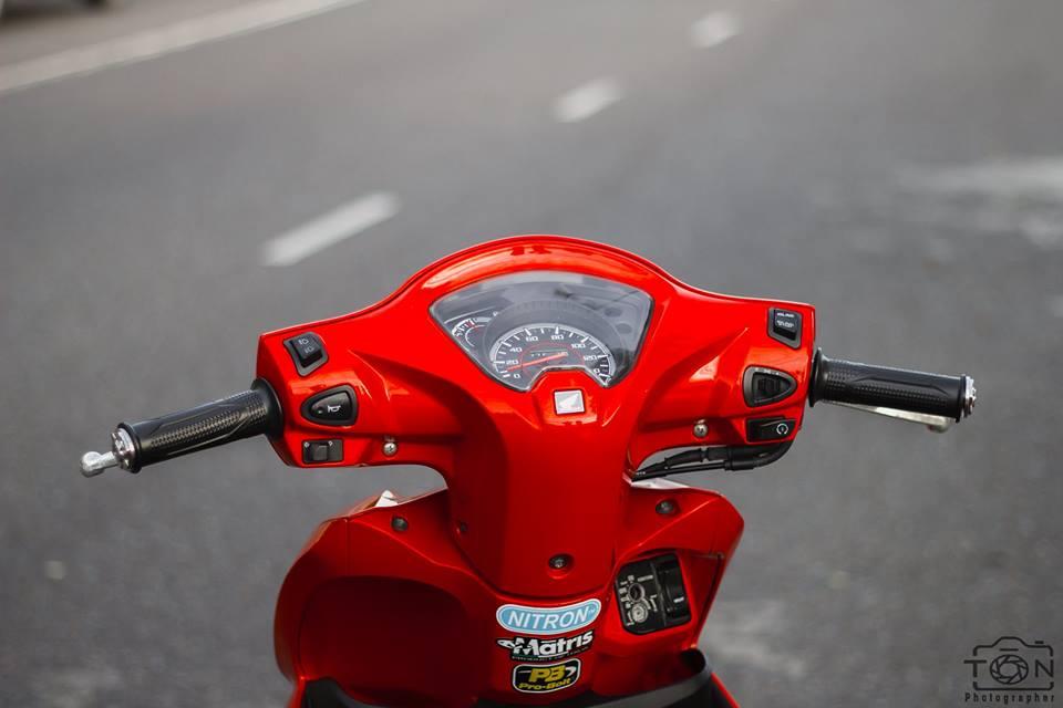 Honda Vision do khoe dang ben dan ca map BWM - 4