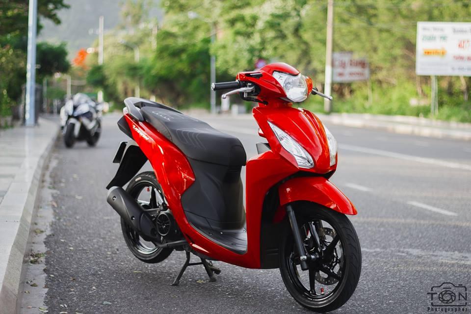 Honda Vision do khoe dang ben dan ca map BWM - 7
