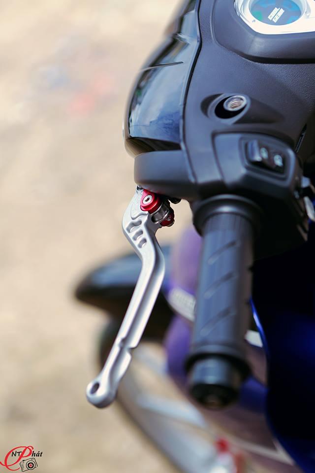 Jupiter MX Ban do day quyen ru cung dan do choi hang hieu tu Biker Viet - 6