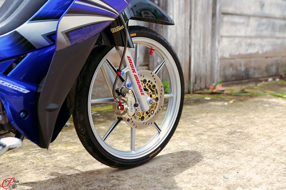 Jupiter MX Ban do day quyen ru cung dan do choi hang hieu tu Biker Viet - 5