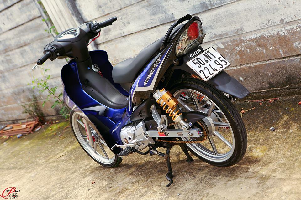 Jupiter MX Ban do day quyen ru cung dan do choi hang hieu tu Biker Viet - 17