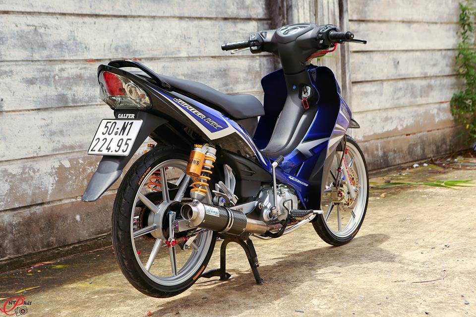Jupiter MX Ban do day quyen ru cung dan do choi hang hieu tu Biker Viet - 18