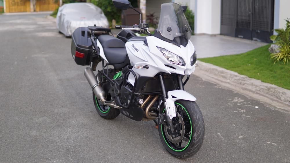 Kawasaki Versys 650 Full option Touring cho anh em thich di lai - 9