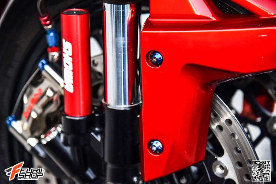 Kawasaki ZX10R do khac biet voi tong mau do chu dao - 2