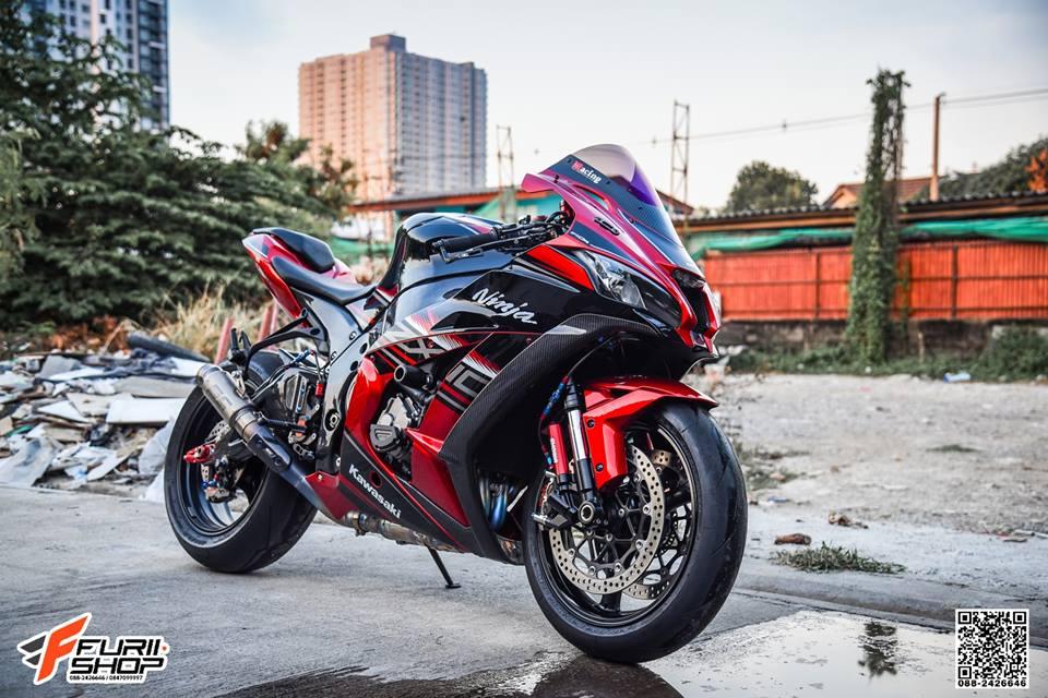 Kawasaki ZX10R do khac biet voi tong mau do chu dao - 6